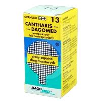 Dagomed 13 Cantharis -  stany zapalne dróg moczowych