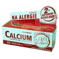 Calcium + kwercetyna Duo Alergo