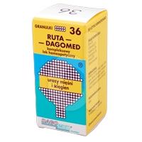 Dagomed 36 Ruta - urazy mięśni i ścięgien