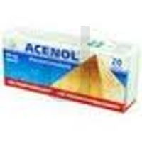 Acenol tabl. 0,3g 20tabl.(2blist.po10s