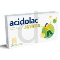 Acidolac Junior 20tabl.a2,8g(misiotab