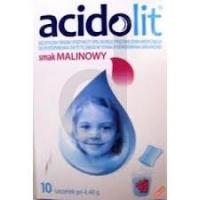 Acidolit sm.malinowy pr.dop.rozt.doust. 10