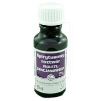 Pyoctanina 2% (roztwór spirytusowy)