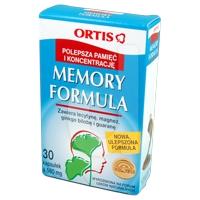 Memory Formuła środek dietetyczny poprawiający pamięć