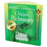 Olejek pichtowy do użytku wewnętrznego- suplement diety